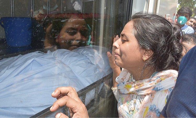 মসজিদে বিস্ফোরণ: তিতাসের আটজন বরখাস্ত
