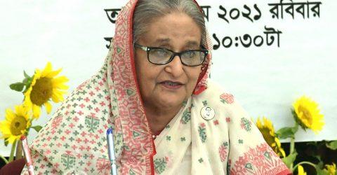 সবার জন্য টিকা নিশ্চিতে সরকার কাজ করছে: প্রধানমন্ত্রী